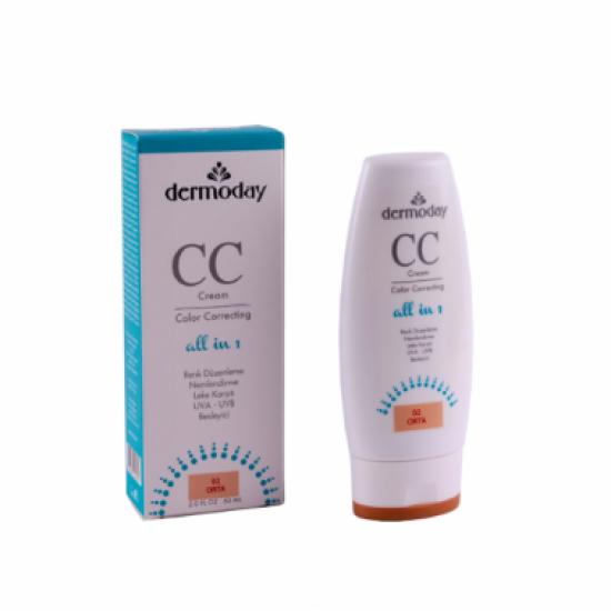 Dermoday CC Cream Medium Tone 02 60Ml