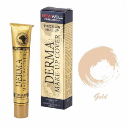 New Well Derma Makeup Cover Intensive Concealer Foundation - 01 Gold Very Light Tone