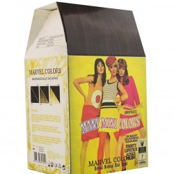 Marvel is a hair dye of the natural herbs No. 7 medium color tiling