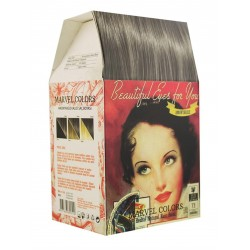 Marvel is a hair dye of the natural herbs No. 7.1 Gray medium