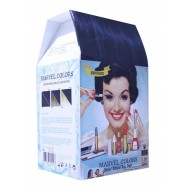 Natural Herbal hair dye marvel black 1.10 blue Black