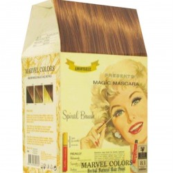 Marvel is a hair dye of the natural herbs No. 8.3 light brown