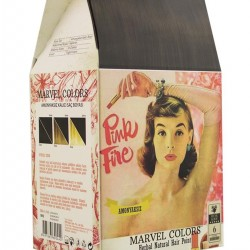 Marvel is a hair dye of the natural herbs No. 6 Sepia
