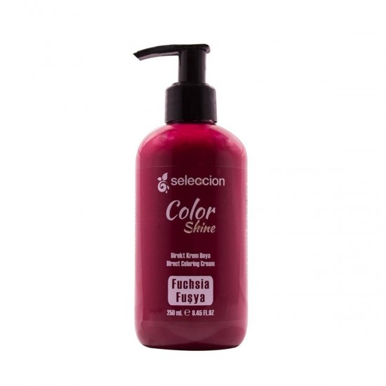 Hair Color Shine Cream Fuchsia 250 Ml Seleccion