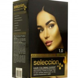 Hair dye from Seleccion In black number 1.0
