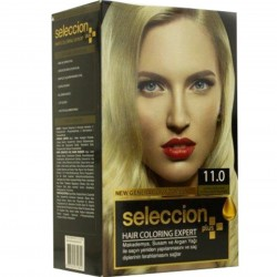 Hair dye from Seleccion 11.0 very light yellow