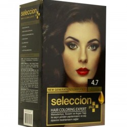 Hair dye from Seleccion 4.7 Golden brown