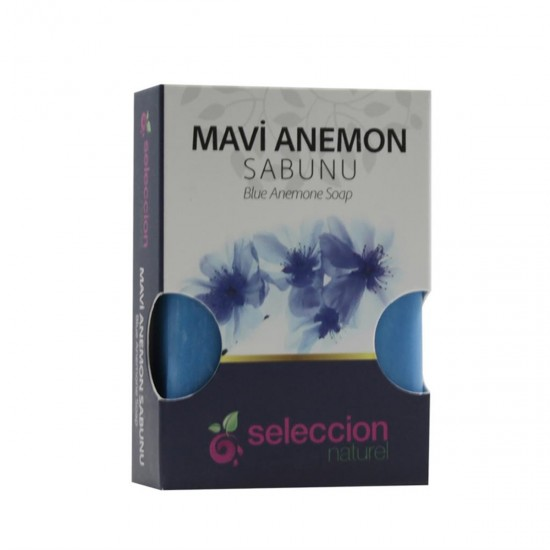 natural soap blue anemone 100 gr from Seleccion