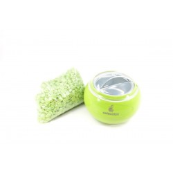 Seleccion wax grains for unwanted hair removal
