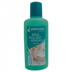 Natural acetone with glycerin 125 ml green of Seleccion